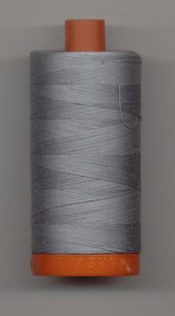 Aurifil Quilting Thread 40 or 50wt Light Blue Grey 2610