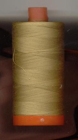 Aurifil Quilting Thread 40 or 50wt Light Brass 2920