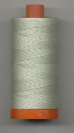 Aurifil Quilting Thread 40 or 50wt Light Grey Green 2843