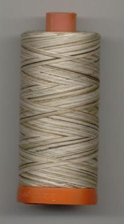Aurifil Quilting Thread 40 or 50wt Nutty Nougat Verigated 4667
