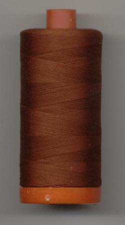 Aurifil Quilting Thread 40 or 50wt Rust 2355