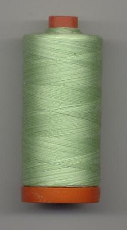 Aurifil Quilting Thread 40 or 50wt Spring Green Verigated 3320