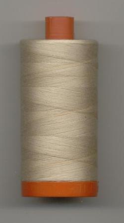 Aurifil Quilting Thread 50 or 80wt Ermine 2312