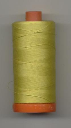 Aurifil Quilting Thread 50wt Gold Yellow 5015