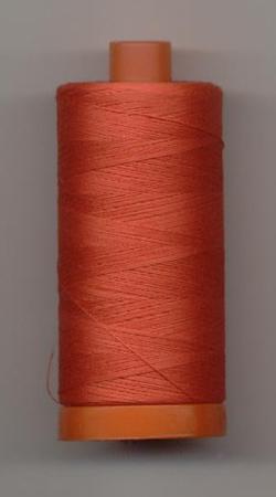 Aurifil Quilting Thread 50wt Light Red Orange 2277