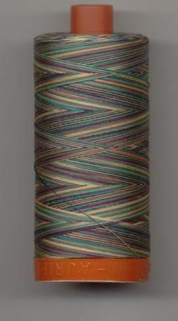 Aurifil Quilting Thread 50wt Marrakesh Verigated 3817