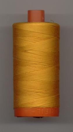 Aurifil Quilting Thread 50wt Yellow Orange 2145