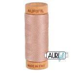 Aurifil Quilting Thread 80wt Antique Blush 2375