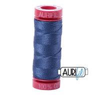 Aurifil Quilting Thread12wt Steel Blue 2775