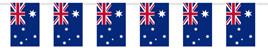 Australian Flag Bunting 6m long