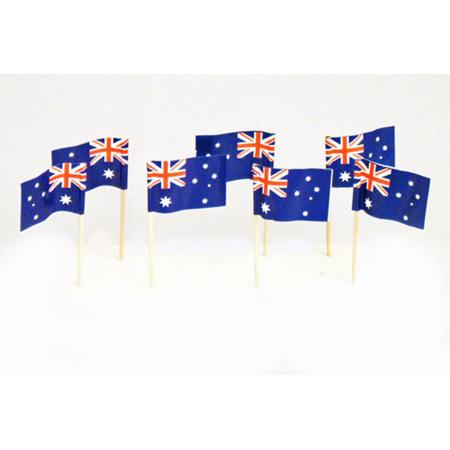 Australian Flag Picks x 20
