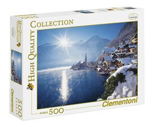 Clementoni 500 Piece Jigsaw Puzzle: Austria-Hallstatt In Winter