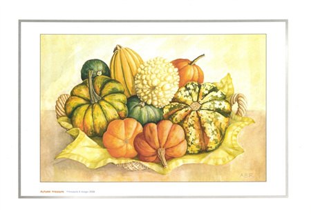 'Autumn treasure' art print