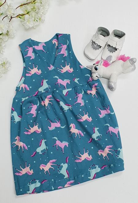 Ava Pinafore Dress