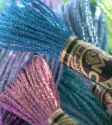 Available - DM317  Light Effects Metallic Stranded Thread