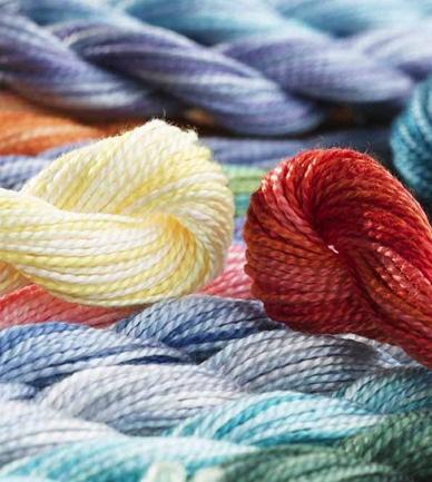 Available - DM415  DMC Pearl 5 Cotton Colour Variations Hanks