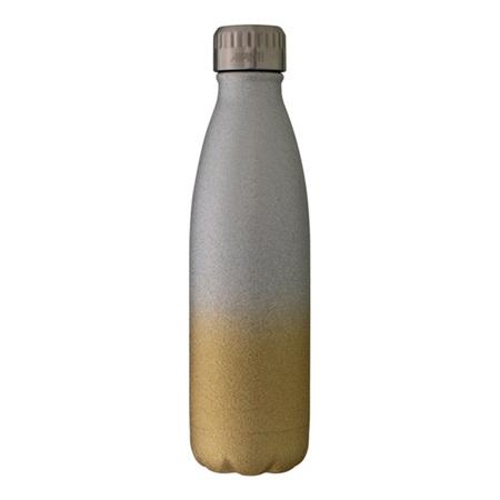 Avanti Fluid Bottle 500ml Glitter - Champagne/Silver