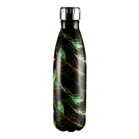 Avanti Fluid Bottle 500ml Peacock Feather
