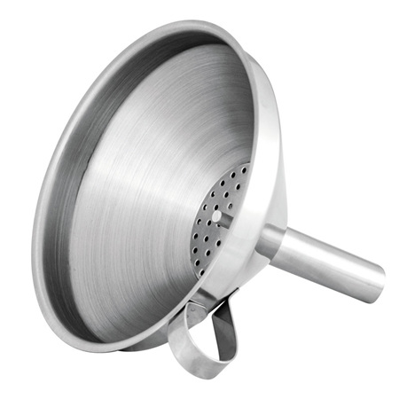 Avanti Funnel With Filter - Stainless Steel 12cm