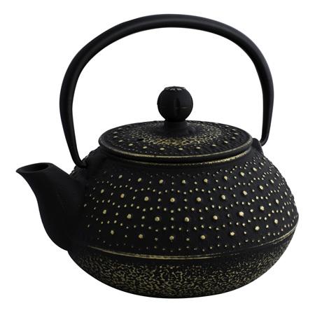 Avanti Imperial Teapot 800ml Black Gold