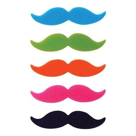 Avanti Moustache Glass Markers set/6