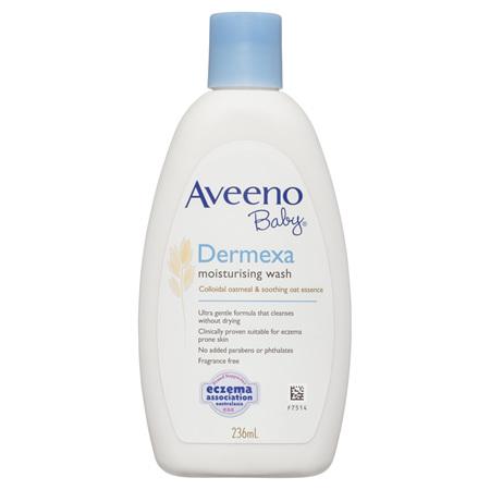 Aveeno Baby Dermexa Moisturising Body Wash 236mL