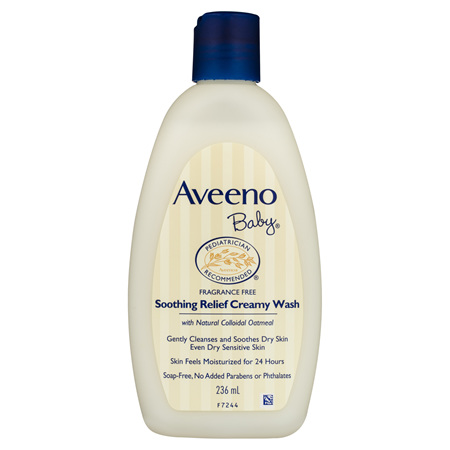 Aveeno Baby Soothing Relief Creamy Body Wash 236mL