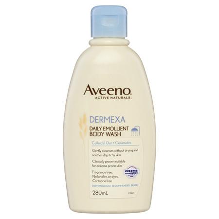 Aveeno Dermexa Daily Emollient Body Wash 280mL