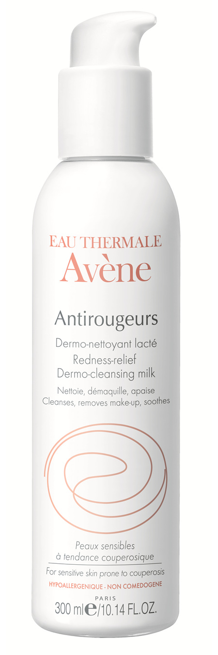 AVENE ANTIROUGEURS CLEANSING MILK 300 mL