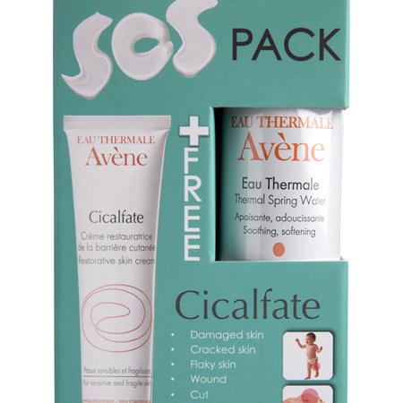 AVENE Cicalfate Cream 40ml + Water 50ml