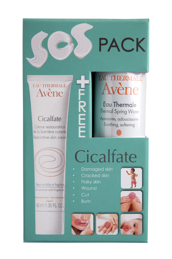 AVENE Cicalfate Cream 40ml + Water 50ml