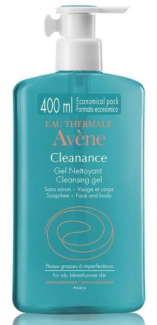 AVENE CLEANANCE GEL CLEANSING 400 ML