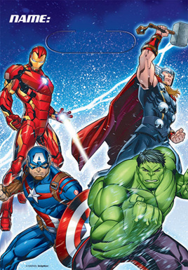 Avengers lootbags x8.