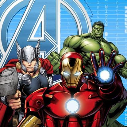 Avengers Lunch Napkins