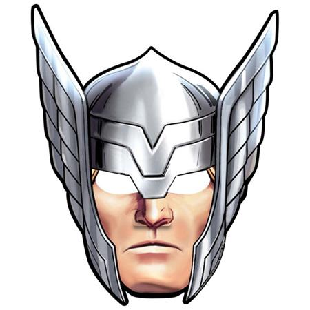 Avengers  masks cardboard x 8