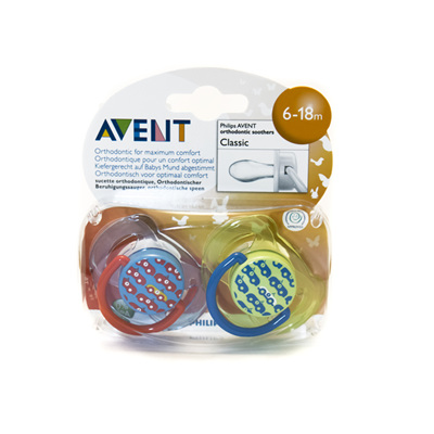 Avent Pacifiers 6-18m