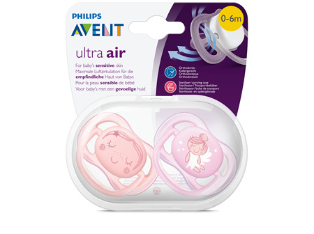 Avent Soother Ultra Air Design 0-6m