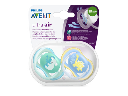 Avent Soother Ultra Air  Design 18m+