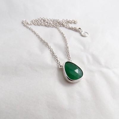 Aventurine Pebble Necklace - No1