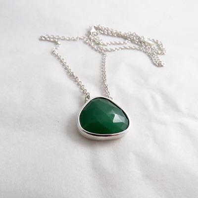 Aventurine Pebble Necklace - No2