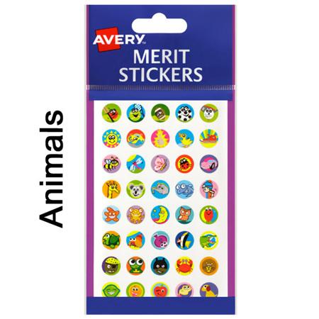 Avery Merit Stickers - 13mm