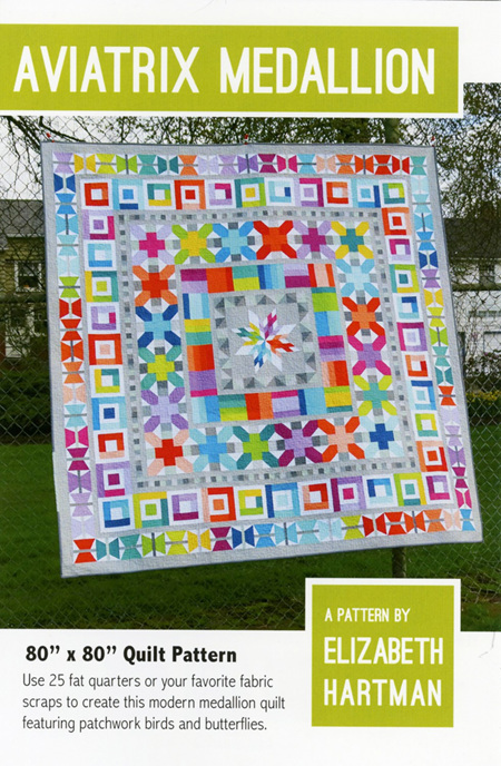 Aviatrix Medallion Quilt Pattern