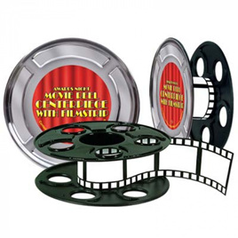 Awards night - centerpiece  with reel and filmstrip