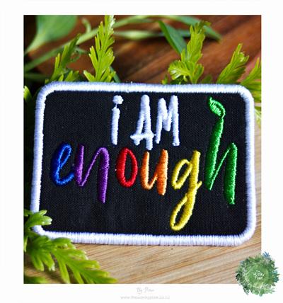 I am enough Patch