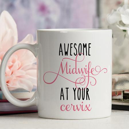 Awesome Midwife Mug