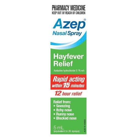 Azep Hayfever Nasal Spray 5mL