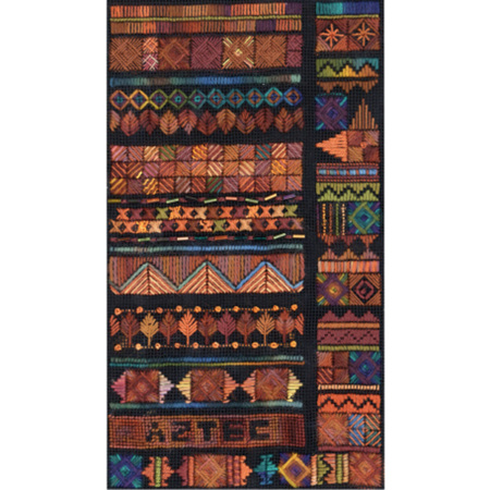 Aztec Canvas Work