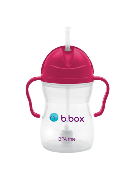 B.Box Sippy Cup - Raspberry -6 Month+