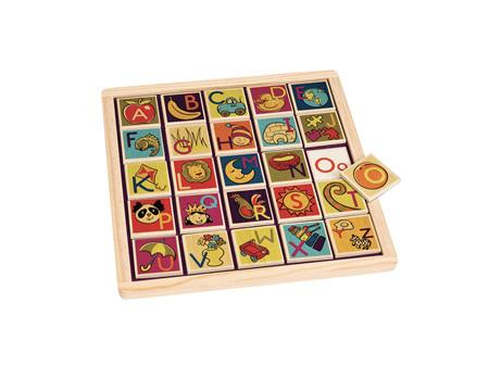 B. Toys Alphabetic Magnetic Puzzle