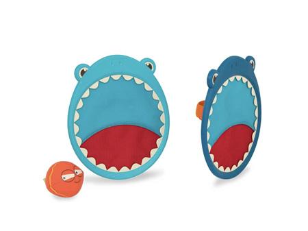 B. Toys Finley the Shark Velcro Ball Critter Catcher